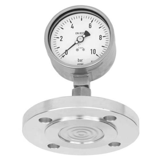 Đồng hồ đo áp suất màng inox