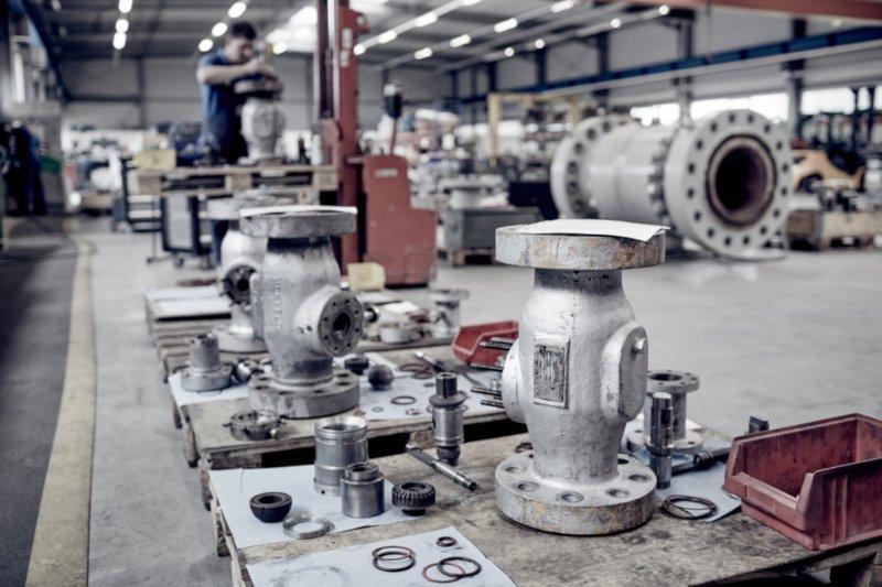 Sửa chữa van công nghiệp