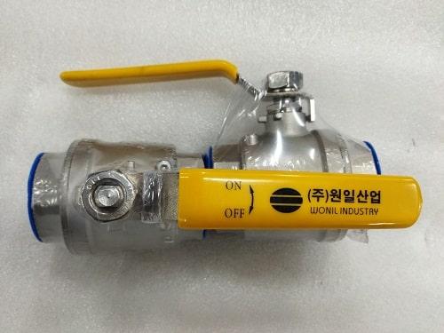 Van bi inox 304 Wonil Hàn Quốc