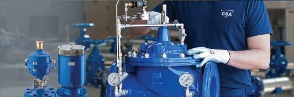 Lắp đặt và vận hành van giảm áp nước