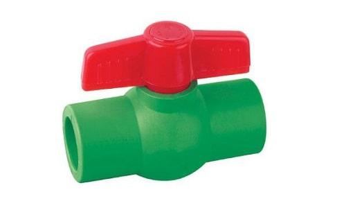 Van bi nhựa PPR
