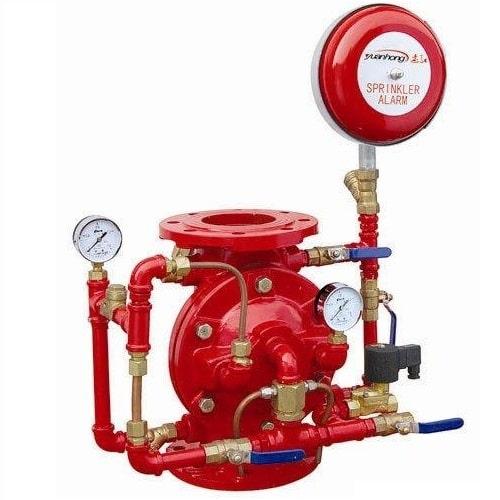 Cấu tạo cơ bản của Alarm valve