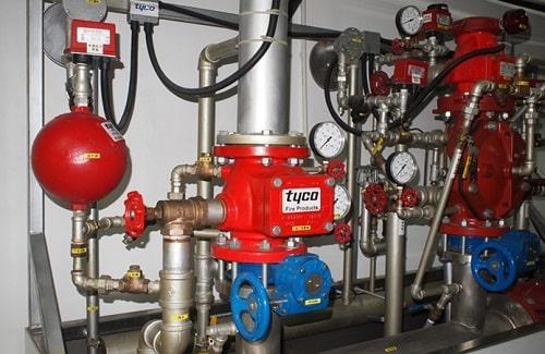 Lắp đặt van báo động Alarm valve trong hệ thống PCCC
