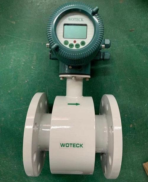 Đồng hồ nước thải dạng điện tử Woteck Taiwan