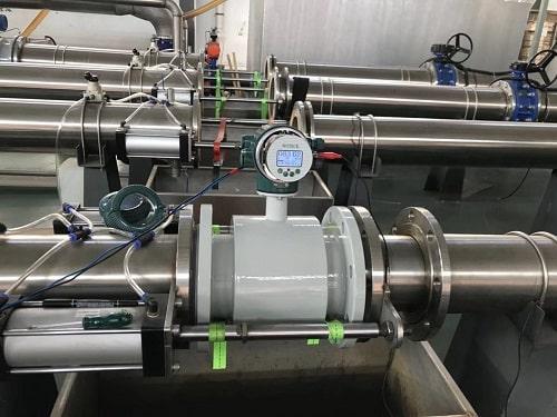 Đồng hồ đo lưu lượng nước thải điện từ