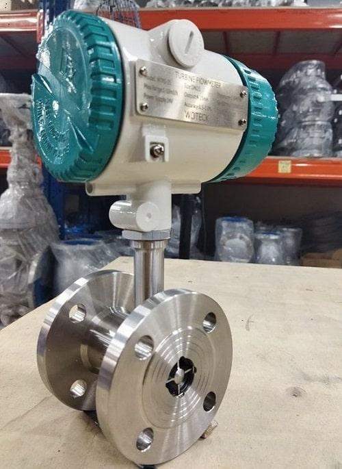 Đồng hồ đo lưu lượng nước điện tử dạng tuabin