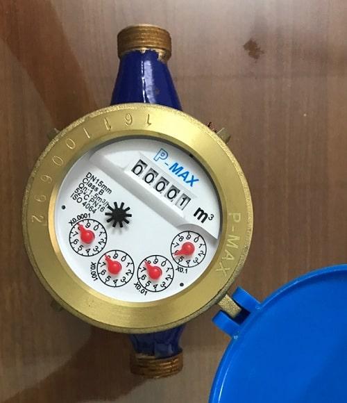 Đồng hồ nước Malaysia Pmax