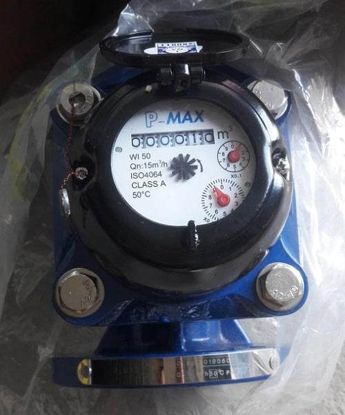 Đồng hồ nước thải dạng cơ Pmax Malaysia