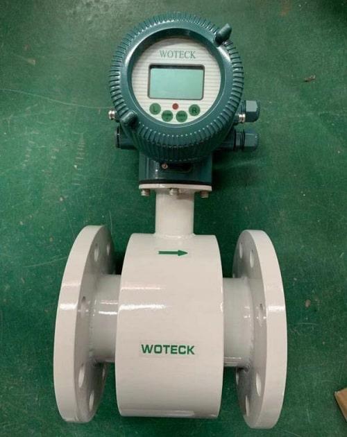 Đồng hồ đo lưu lượng nước thải điện từ Woteck Đài Loan