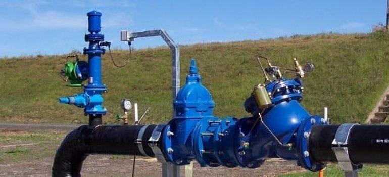 Hệ thống sử dụng van điều khiển áp suất