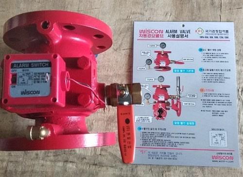 Van báo động Wonil Hàn Quốc - Alarm valve