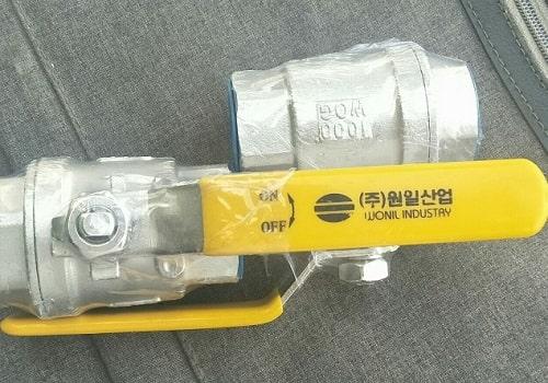 Van bi inox Wonil Hàn Quốc