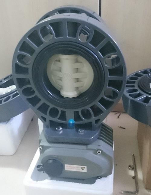 Van bướm nhựa điều khiển điện Haitima Đài Loan
