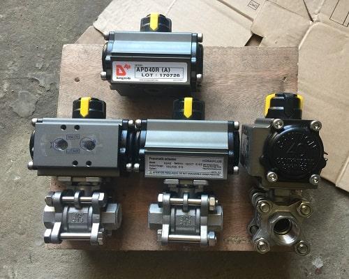 Pneumatic actuator valve (Van bi điều khiển khí nén)