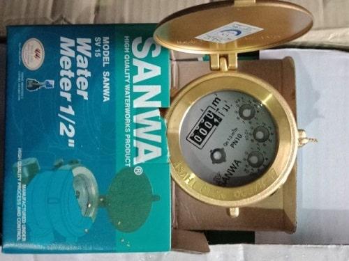 Đồng hồ đo nước sinh hoạt Sanwan
