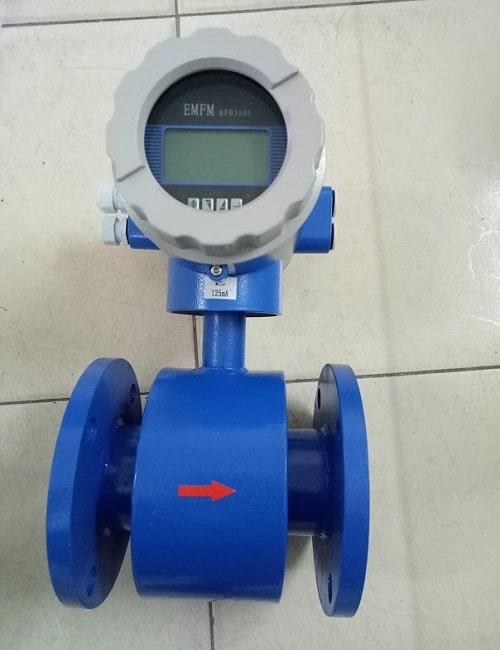 Đồng hồ đo lưu lượng nước thải điện từ Sunul