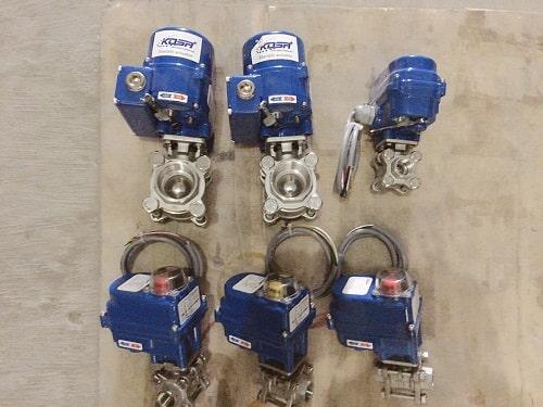 Electric actuator valve (Van bi điều khiển điện)