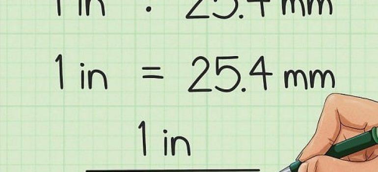 1 inch = 25.4mm