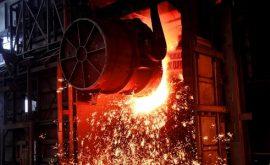 Lò luyện thép sản xuất thành phẩm thép xây dựng