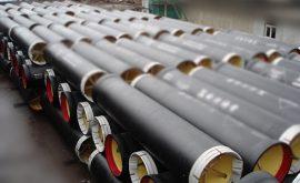 Sản phẩm ống gang dẻo thường sử dụng trong đường ống cấp nước sạch
