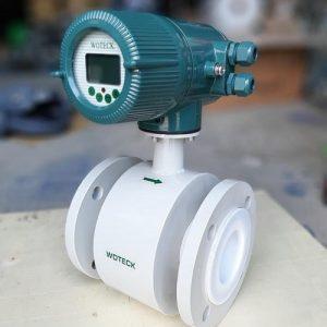 Đồng hồ đo lưu lượng nước thải điện từ Wotech Đài Loan
