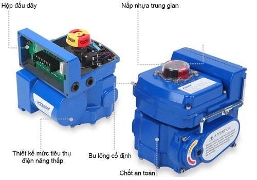 Động cơ điện Kosaplus Hàn Quốc