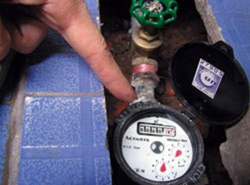 Đồng hồ nước không quay - Nguyên nhân và cách khắc phục